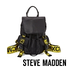 STEVE MADDEN-BEXPREASS 大玩文字潮流背帶後背包-黑色