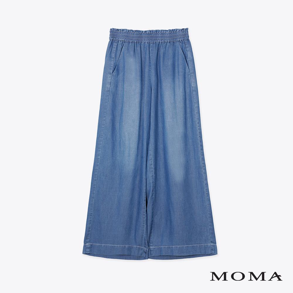 MOMA天絲棉牛仔褲寬褲