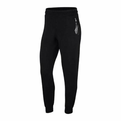 Nike 長褲 NSW 7/8 Pants 運動休閑 女款 縮口褲 棉褲 穿搭 基本款 口袋 黑 白 CU5511010