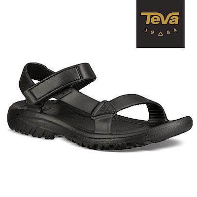 TEVA 女 Hurricane Drift 水陸輕量涼鞋-黑