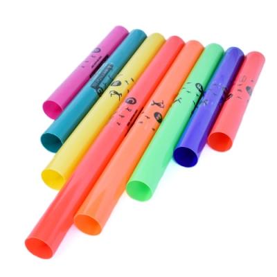 [時時樂限定]幼童專用 8音彩虹 律音管 律音棒 8音響筒(贈外出收納袋)