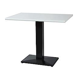 綠活居 阿爾斯環保3尺塑鋼立式餐桌/休閒桌(二色可選)-90x60x74cm免組