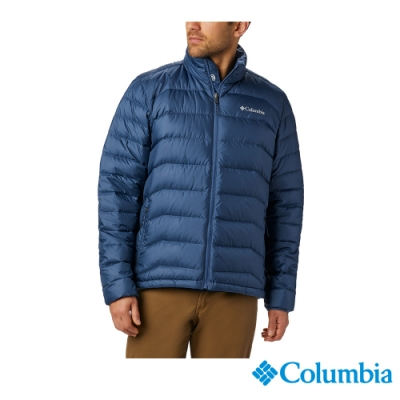 Columbia 哥倫比亞 男款- Omni HEAT 鋁點保暖羽絨外套-墨藍