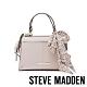 STEVE MADDEN-BREESE 絲巾綁飾手提斜背小方包-米杏色 product thumbnail 1