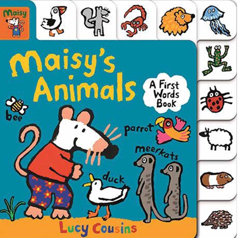 Maisy's Animals:A First Words Book 小鼠波波的動物單字書(美國版)