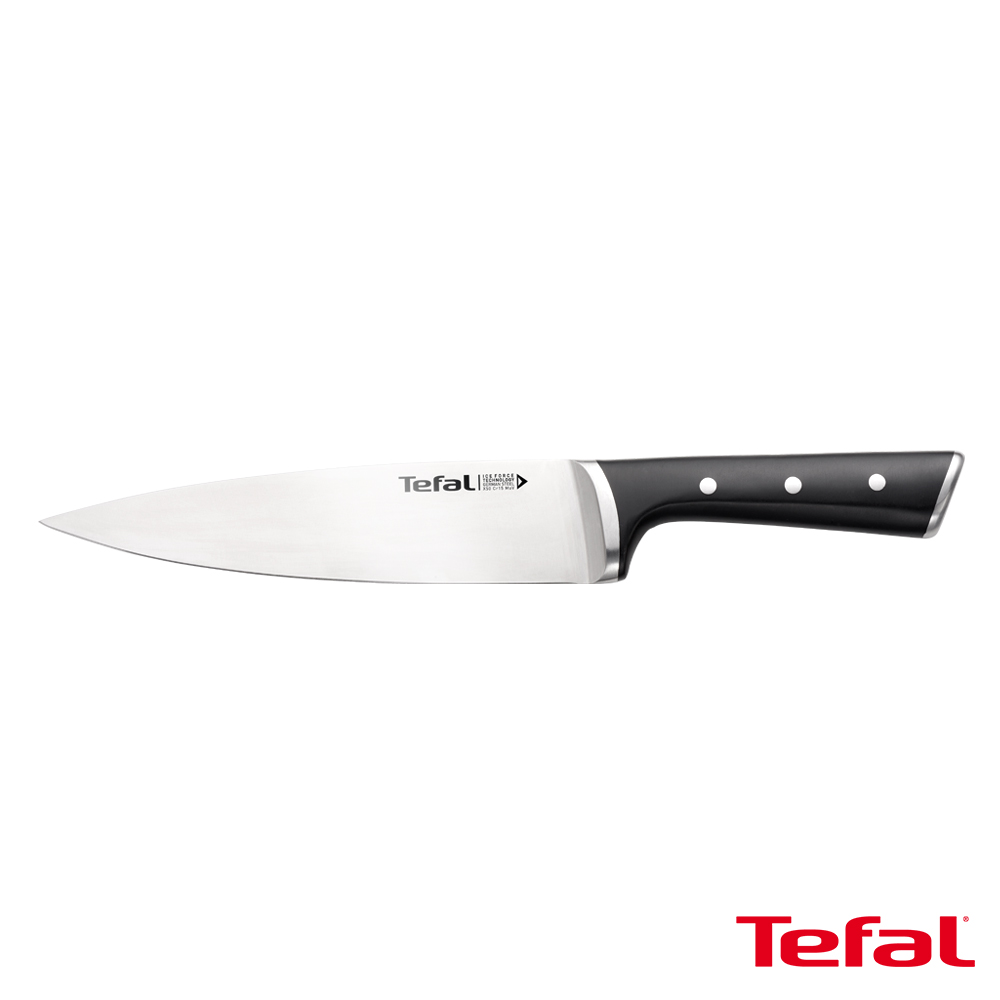 Tefal法國特福 冰鑄不鏽鋼系列主廚刀20CM