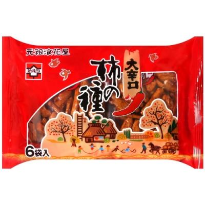 浪花屋 浪花屋柿種6袋裝-辛口(138g)