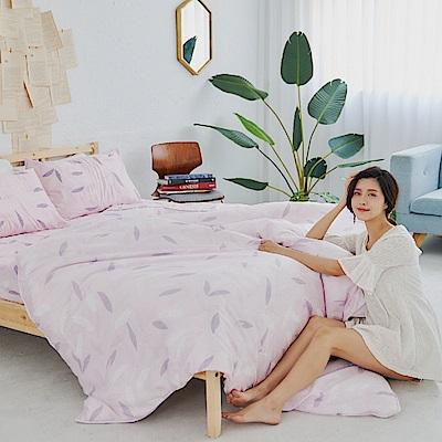 BUHO 100%TENCEL純天絲舖棉兩用被床包組-雙人特大(微風徐來)