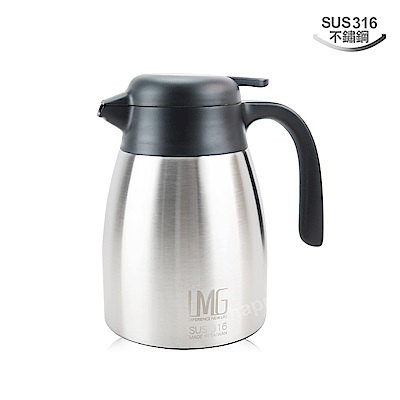 LMG316不銹鋼保溫壺1L保泠壺咖啡壺