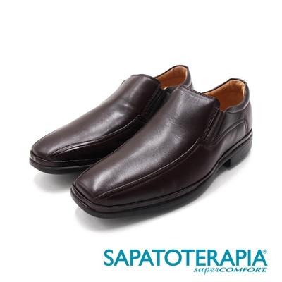 SAPATOTERAPIA(男)PRETO氣墊輕量紳士皮鞋 男鞋-咖(另有黑)
