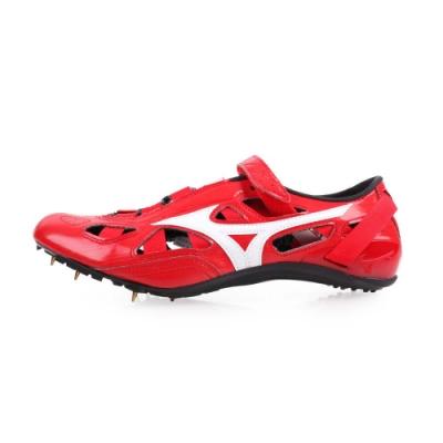 MIZUNO 男女 特定-日製田徑釘鞋短距離 CHRONO INX 9 紅白
