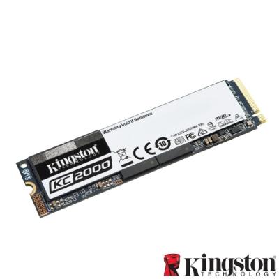 Kingston KC2000 1TB M.2 NVME PCIe SSD 固態硬碟