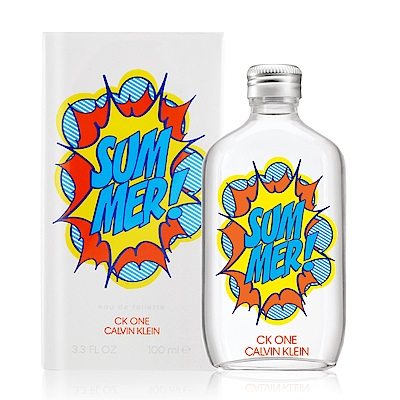 Calvin Klein CK ONE Summer中性淡香水2019夏日限量版100ml