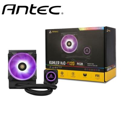 Antec 安鈦克 H2O K120 RGB 一體式水冷 CPU 散熱器 水冷散熱器