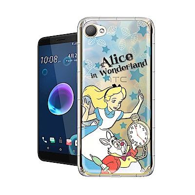 迪士尼授權正版 HTC Desire 12 繽紛空壓安全手機殼(愛麗絲)