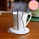 歐士OSHI 轉杯架 (貓) 附贈馬克杯-3入組/吸水杯墊/不鏽鋼杯架/攪拌棒 product thumbnail 2