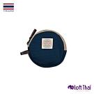 Loft THAI   泰.圓型帆布零錢包   Navy