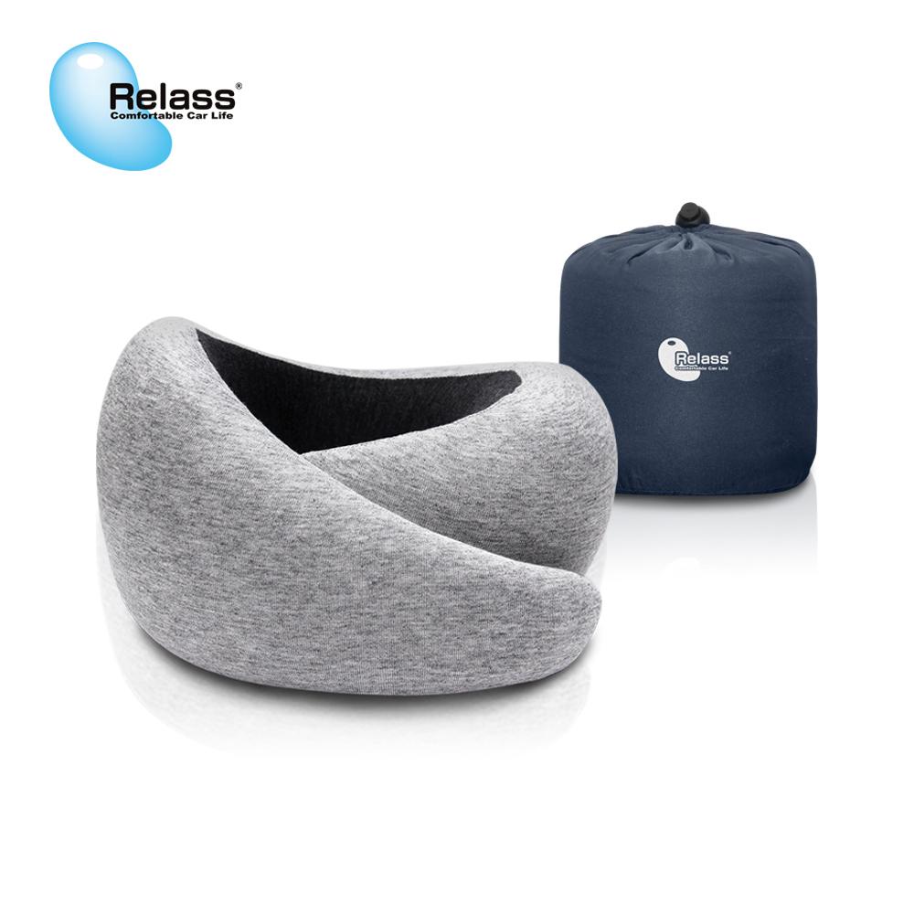 【Relass】可調節式旅行記憶頸枕