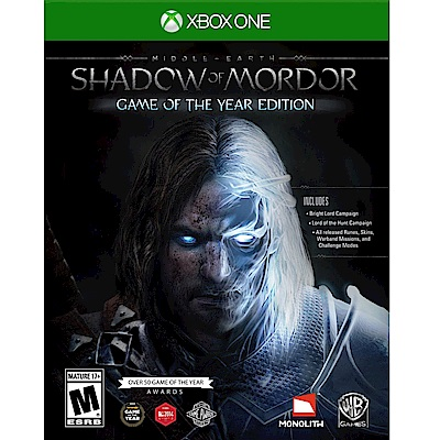 中土世界:魔多之影 年度完整版 Middle Earth-XBOX ONE英文美版