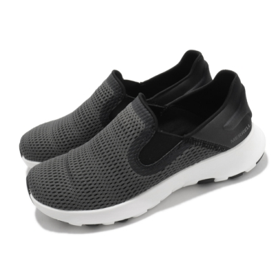 Merrell 休閒鞋 Cloud Moc Vent 女鞋 懶人鞋 輕量 透氣 好穿脫 再生橡膠大底 黑 灰 ML003440