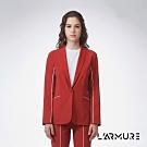 L'ARMURE 女裝 女士彈性 西裝外套 紅褐色