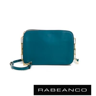 RABEANCO LUXURY極致奢華系列鍊帶包 藍綠