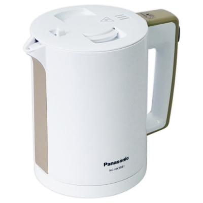Panasonic國際牌0.8L防傾倒雙重隔熱快煮壺 NC-HKT081