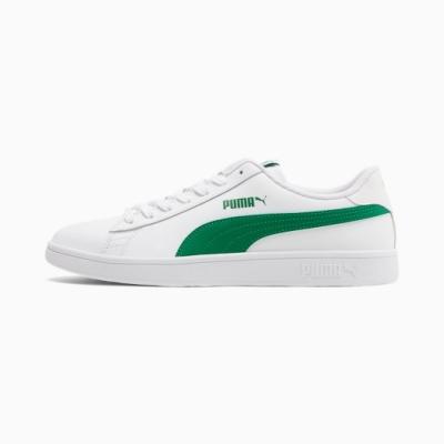 PUMA Smash v2 L 男 休閒鞋 白綠-36521503
