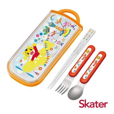 Skater三件式餐具組-巧虎