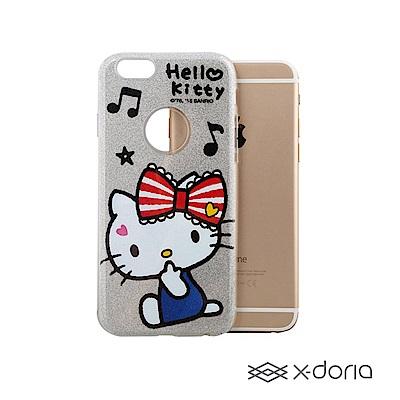 Hello Kitty iPhone 6/6s Plus 炫銀系列保護殼
