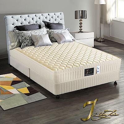 J-style婕絲黛 飯店款防蹣抗菌+蓆面二用彈簧床墊 雙人5x6.2尺