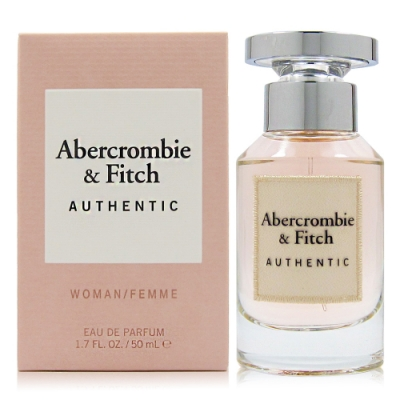 Abercrombie&Fitch Authentic A&F  真我女性淡香精50ml