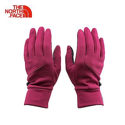 The North Face北面女款桃紅色保暖可觸屏戶外運動手套 | 3KPP3YP
