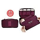 FUNNNY 升級版多用途防潑水 衣物收納包/萬用包 (M) 酒紅