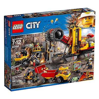 LEGO樂高 城市系列 60188 採礦專家採集場