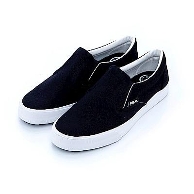 FILA 男款休閒鞋-黑 1-C102S-001