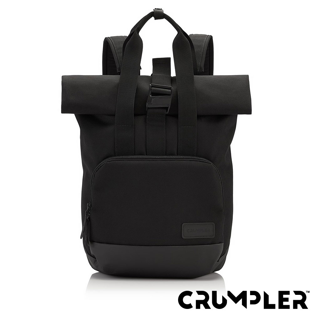Crumpler 小野人 ALGORITHM 捲捲筆電後背包(M) 黑