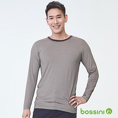 bossini男裝-遠紅外線發熱衣02深褐