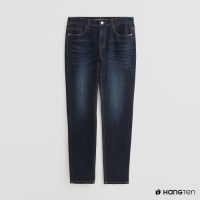 Hang Ten - 男裝 - 波浪刷色牛仔褲 - 深藍