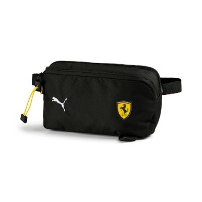 PUMA-男女Ferrari Fanwear腰包-黑色