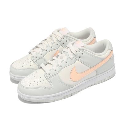 Nike 休閒鞋 Dunk Low 經典款 運動 女鞋 Barely Green 滑板 穿搭 淺綠 粉橘 DD1503-104