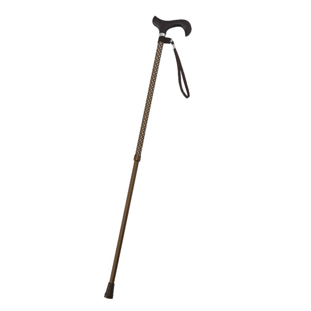 金德恩 10段可調式伸縮輔助拐杖(61至93cm)附手腕袋