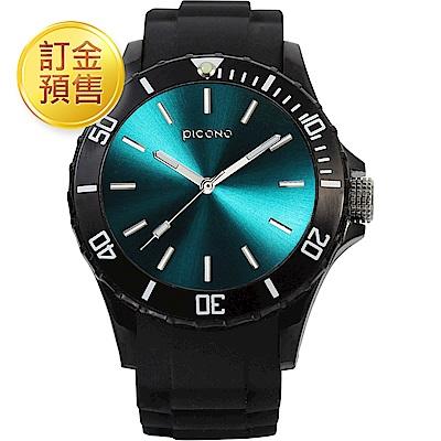 [訂金預售]PICONO BALLOON COLOR 時尚腕錶-土耳其藍/48mm