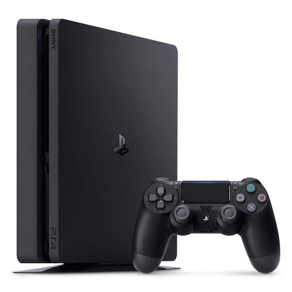 PS4主機 500GB台灣公司貨 (黑色)