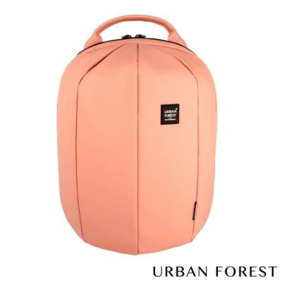 URBAN FOREST都市之森 甲蟲-Skin Touch膚感系列後背包/雙肩包 鐵鏽粉