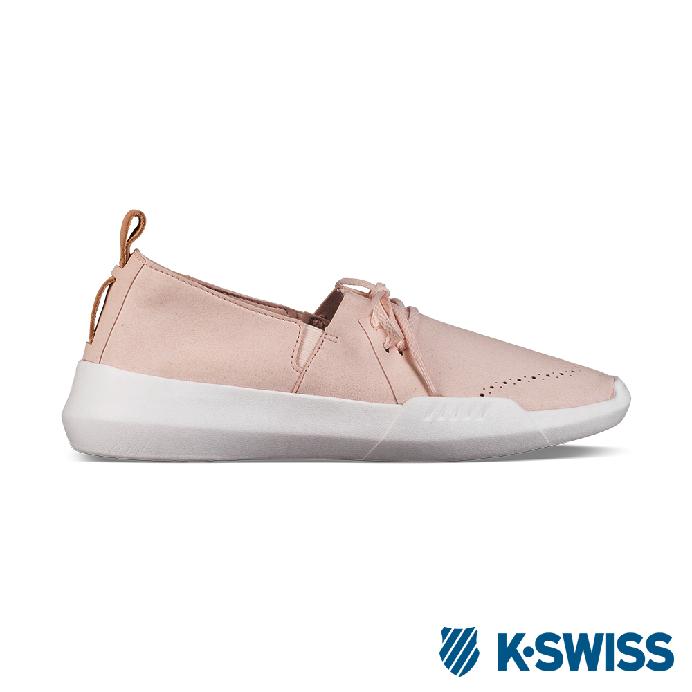 K-SWISS Gen-K Brogue休閒運動鞋-女-粉/白