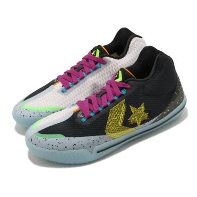 CONVERSE 籃球鞋 All Star BB Evo 男鞋 低筒 星星 果凍底 避震 球鞋 黑 紫