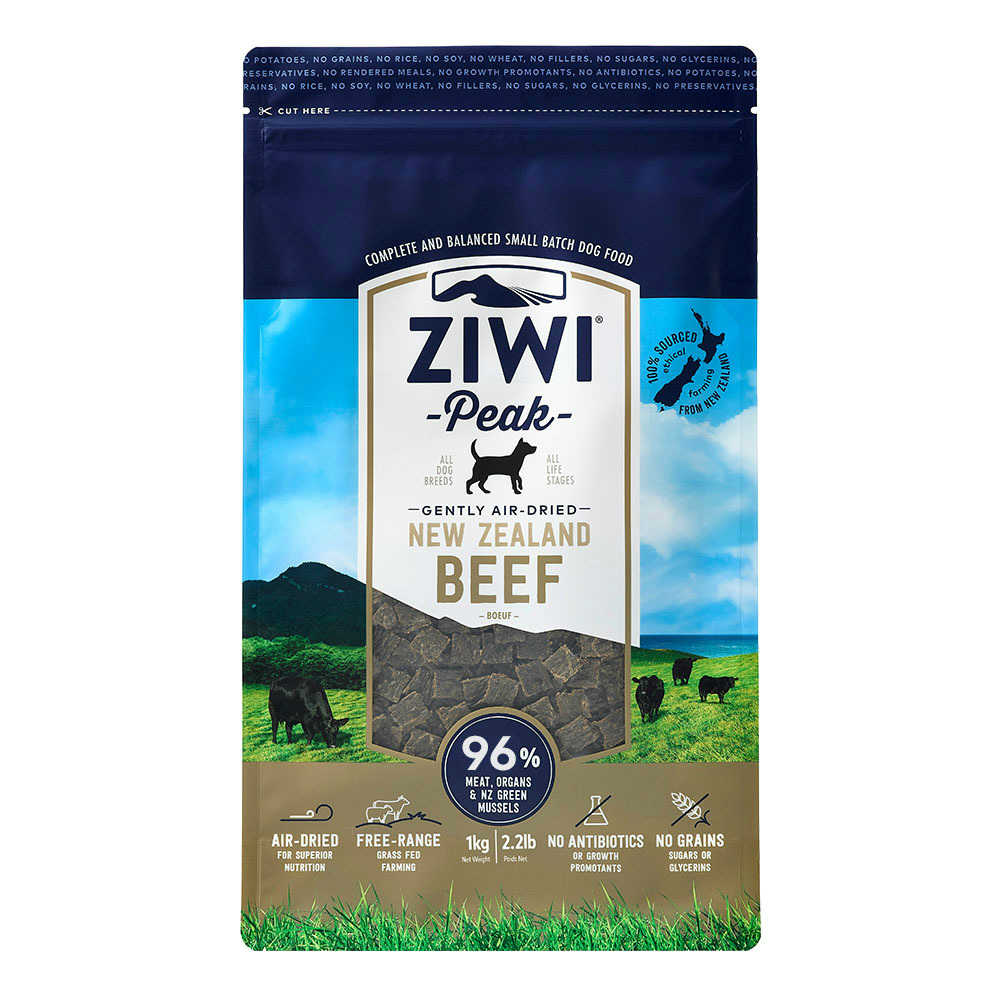 ZiwiPeak巔峰 96%鮮肉狗 牛肉 1KG