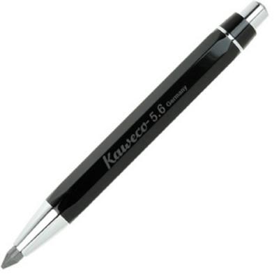 KAWECO Sketch Up Classic黑桿白夾專業素描用自動鉛筆*5.6mm