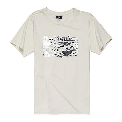 Onitsuka Tiger LOGO印花短袖T恤 2181A128-100